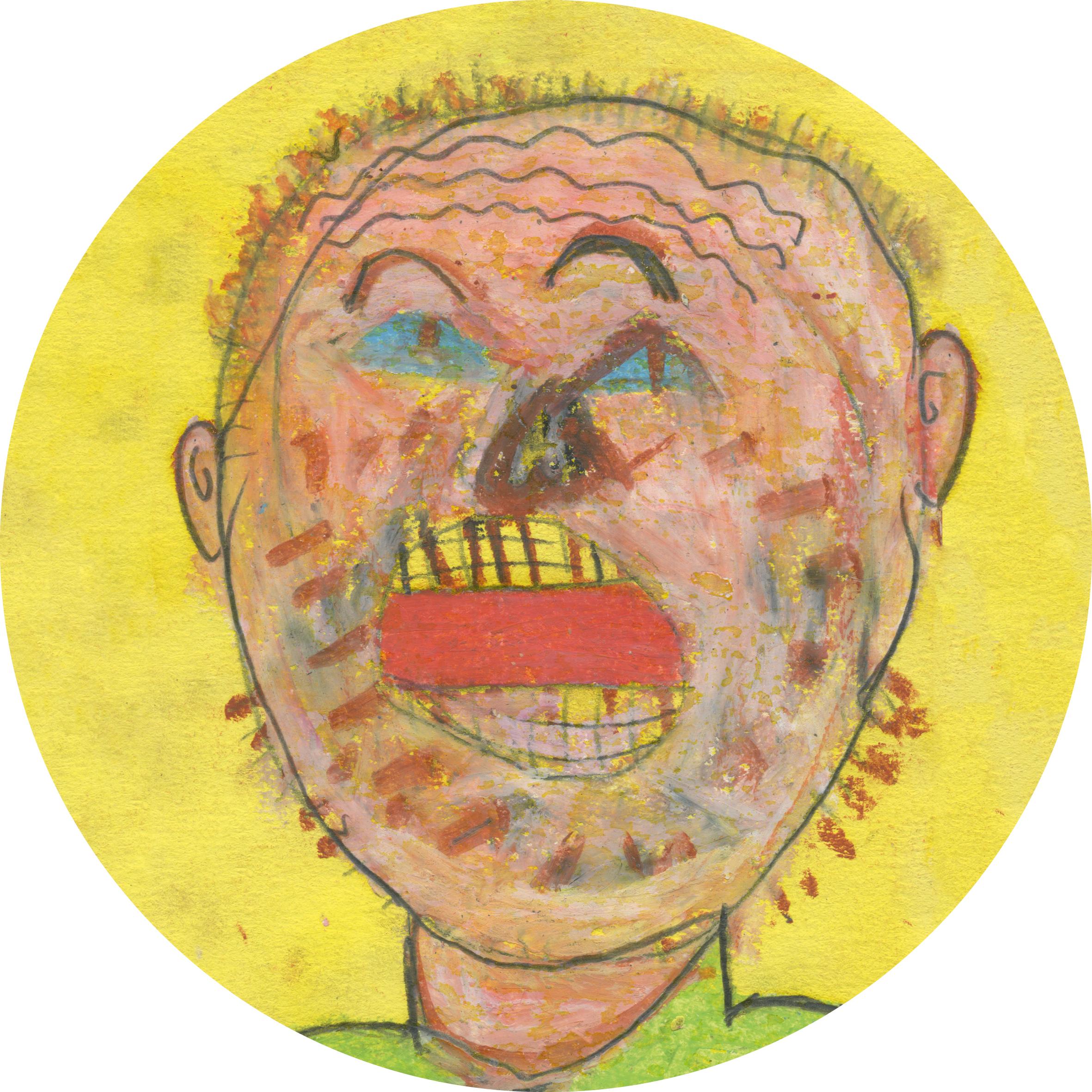 le chanteur (dessin de Sam Semal)