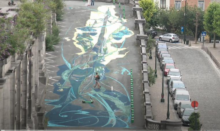 street art palais de justice bruxelles